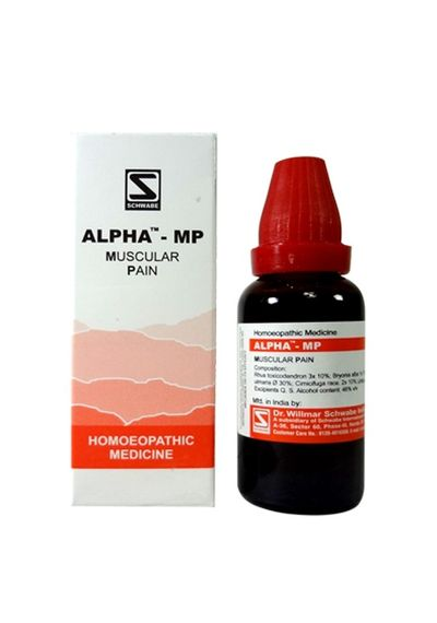 Schwabe Alpha MP drops for Muscular Pain