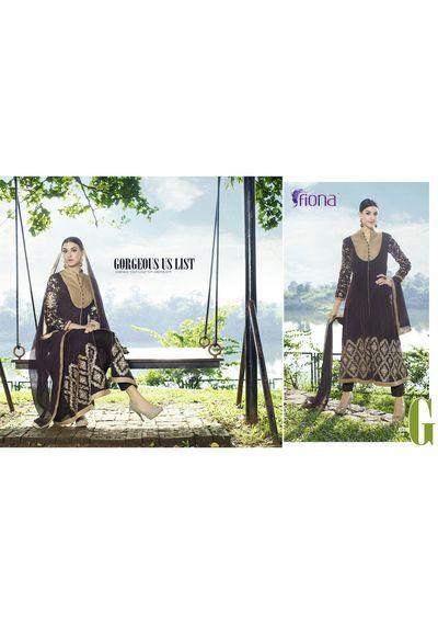 Fiona Velvet Designer Suits