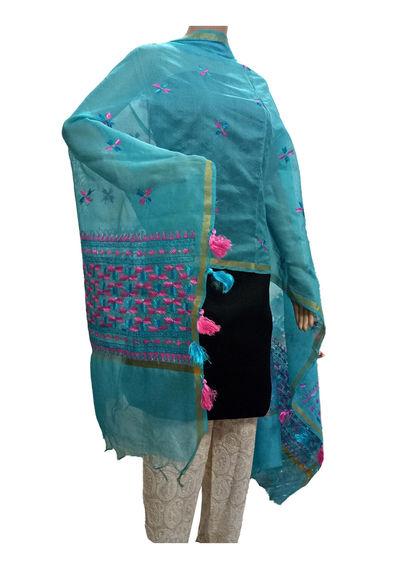 Firozi Handicraft Phulkari Dupatta