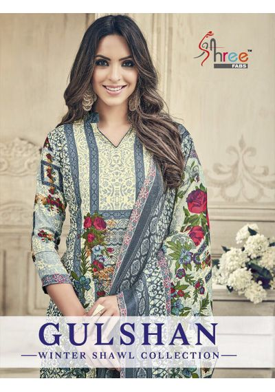 Gulshan Winter Shawl Collection  ( Rs 4280+ Rs.214 GST )
