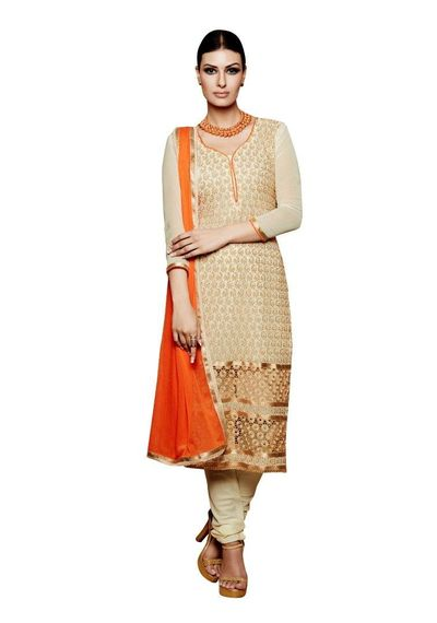 Embroidery Dress Material Salwar Suit With Matching Dupatta