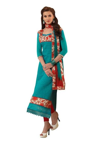 Desinger   Emroidered  Suit Dress Material
