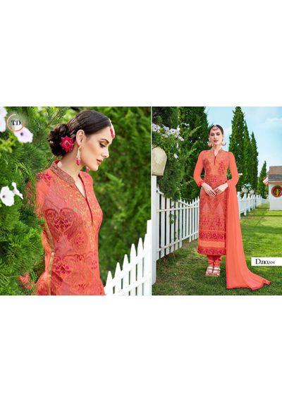 Desinger Suits  Orange