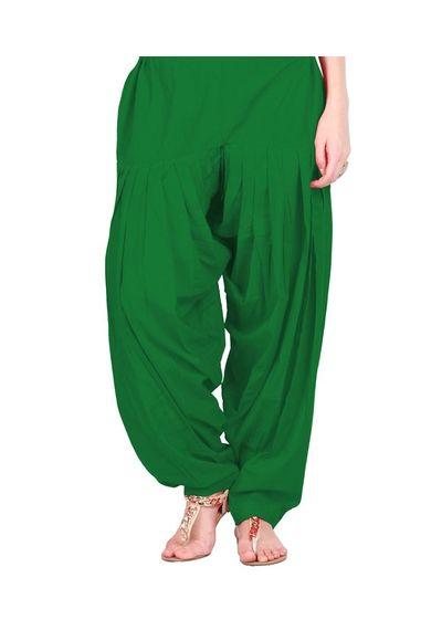 Patiala Shahi Salwar - Green Colour