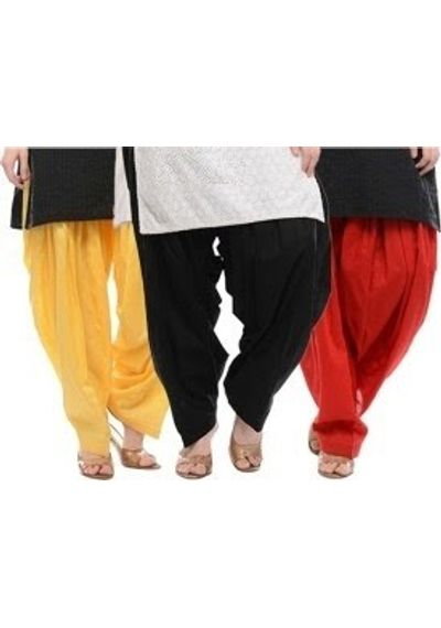 Patiala Shahi Salwar - Set Of 3 Colours