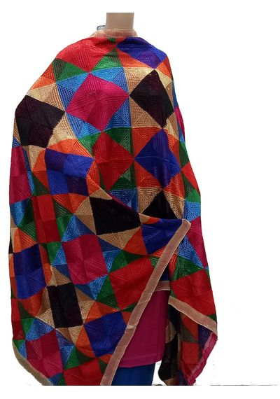 Multi Colour - Phulkari Bagh