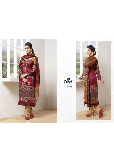 Print Pashmina Suits