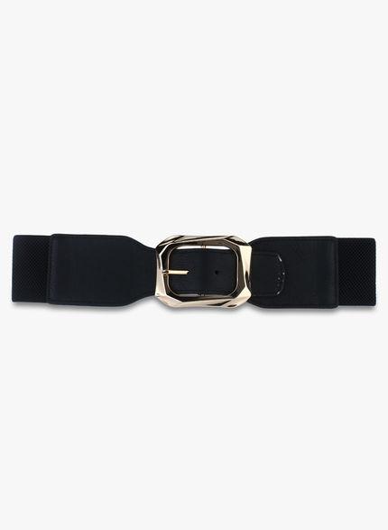 Kazo Black  Belt with large Buckle
