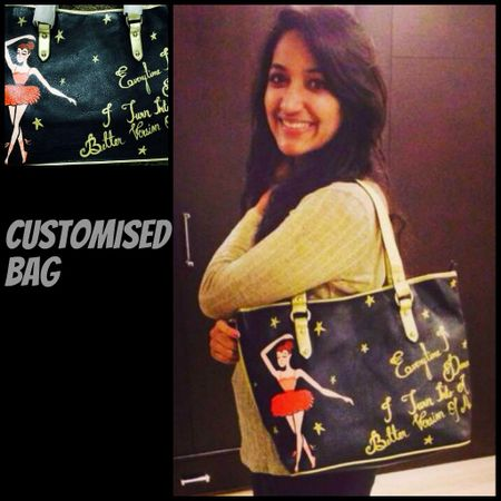 Ria custom quote bag