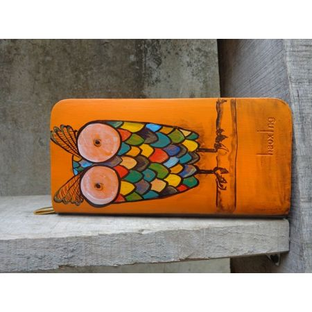 Big eyed owl wallet