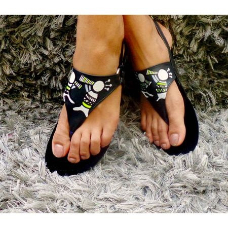 indie flat sandals