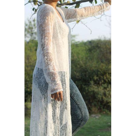 white net cape