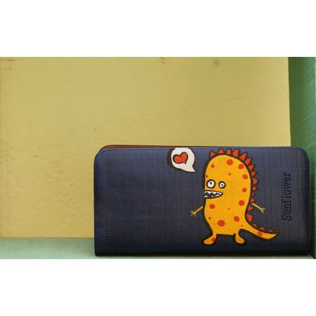 yellow dragon wallet