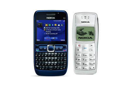 Sale Combo of Nokia E-63 Mobile Phone and Nokia N-1100