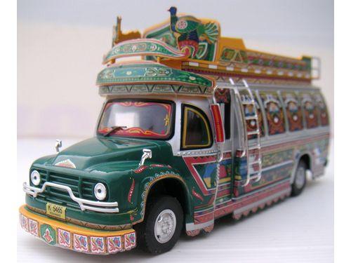 Bedford Peshawar Transit Bus