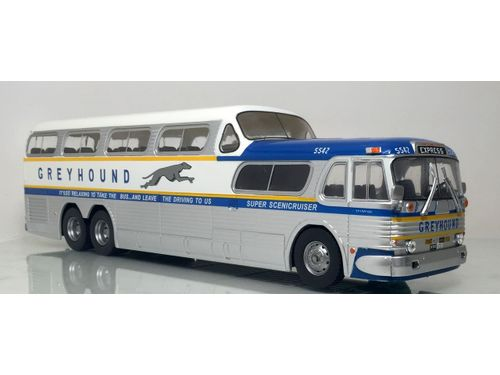 Greyhound Lines Bus Coach