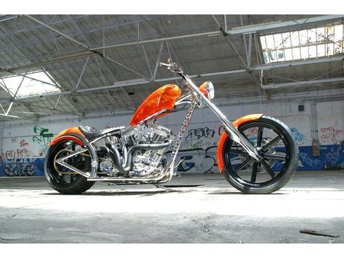 Low Rider Chopper - Diablo Soft Tail