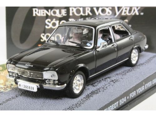 Peugeot 504 James Bond For Your Eyes Only
