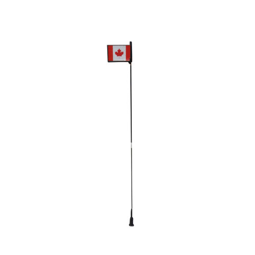 Speedy Riders Superior Quality Sticker Canada Flag Antenna
