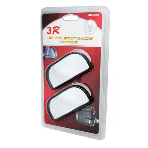 Speedy Riders 3R Wide Rectangle Car Blind Spot Side Rear View Mirror for All Cars