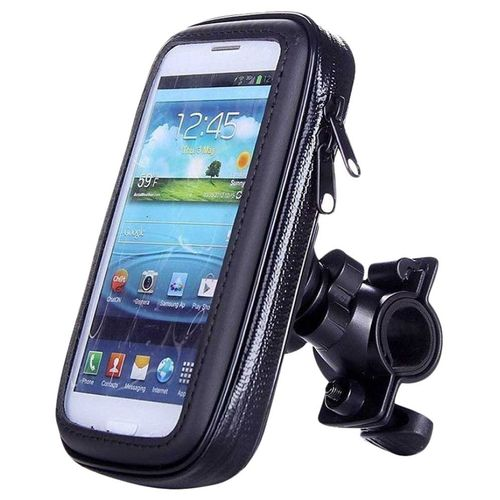 Speedy Riders Black Bike 5.9 Inch Screen Mobile Holder for All Bikes