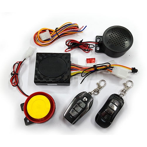 Speedy Riders Scooter / Bike Security Alarm System with Double Remote For All Bikes