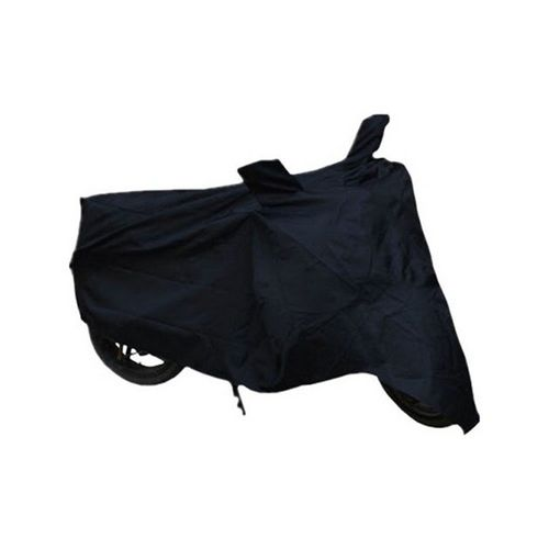 Speedy Riders Bike Black Body Cover With Side Mirror Pocket For All Bikes