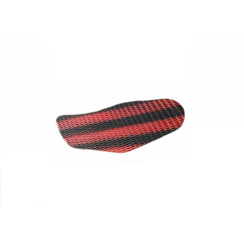 Speedyriders Bike Sweat Free Stretchable Net Seat Cover Black & Red Color For All Bikes