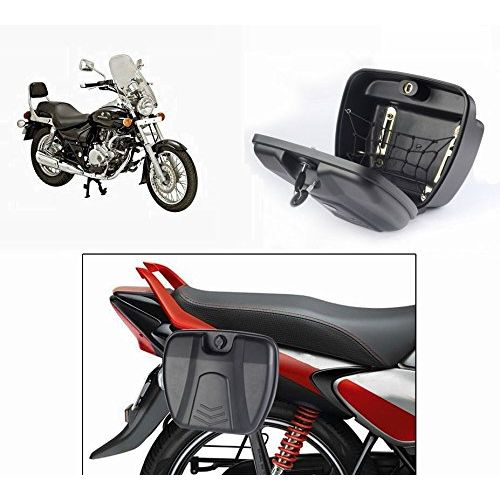 Speedy Riders Bike Stylish Side Luggage Holder With Lock For All Bikes
