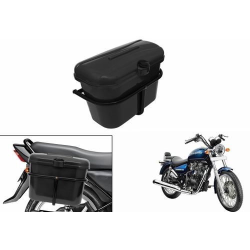 Speedy Riders Bike Side Luggage Box Black For All Bikes