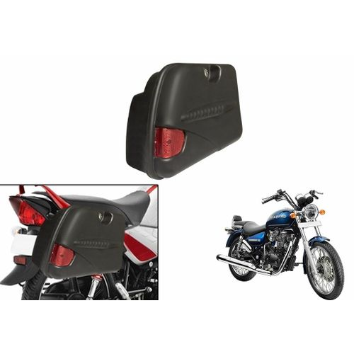 Speedy Riders Bike Side Luggage Box with Lock & Reflector For All Bikes