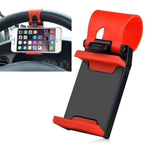 Speedy Riders 6mm Steering Wheel Car Mobile Holder Car Cradle For All Cars