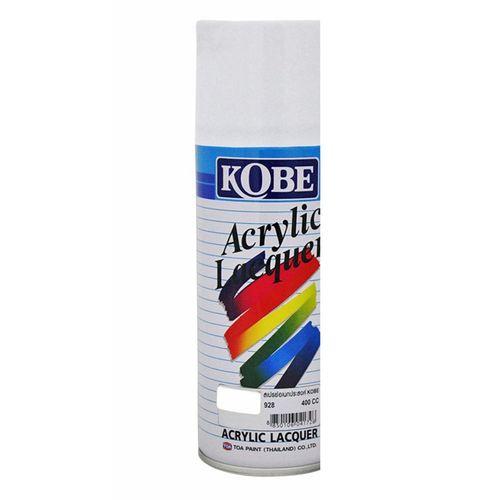 Kobe Car Touchup Spray Paint 400ml White Color