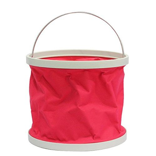Speedy Riders Foldable Cleaning Water Bucket / Trash Bin - Assorted Colors