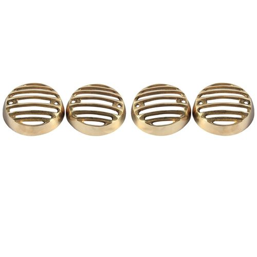 Speedy riders Brass Made Indicator Grill Set of 4 For Royal Enfield