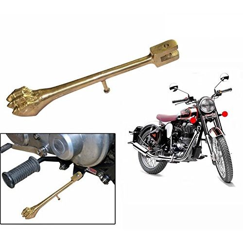 Speedy riders Brass Lion Paw Side Stand For Royal Enfield