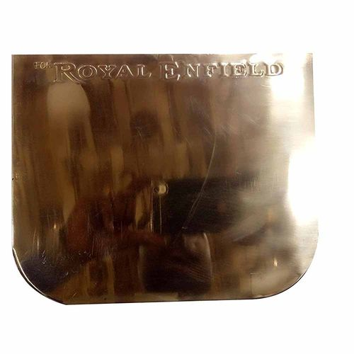 Speedy riders Customized Brass Number Plate Back For Royal Enfield