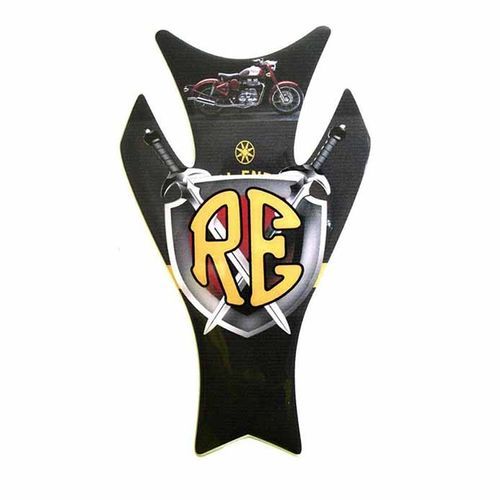 Customized Bullet Tank Pad Tank Sticker Protector Pad For Royal Enfield