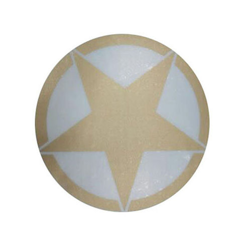 Customized Star Golden Color Sticker for All Bikes