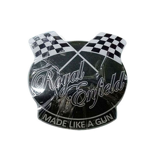 Customized Racing Flags Sticker for Royal Enfield