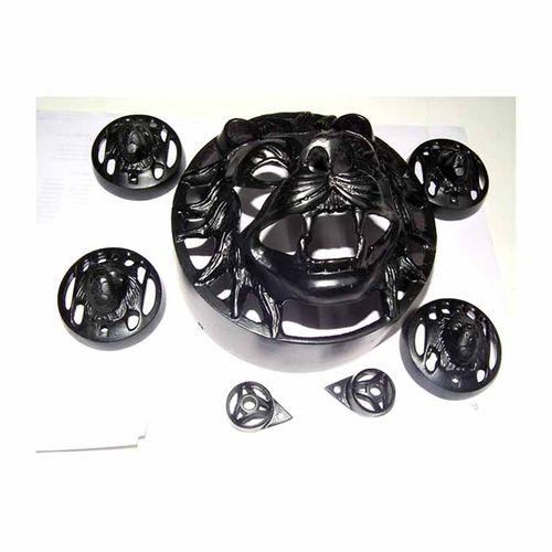 Speedy Riders Combo Offer Complete Set of 7 pieces Tiger Face Headlight Grill For Royal Enfield