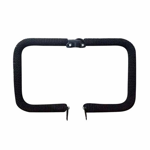 Speedy Riders Heavy Duty Harley Type Square  Safety Leg Guard Crash Guard With Black Rope For Royal Enfield