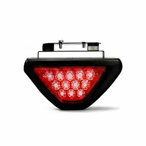 Speedy riders 12 LED Brake Light with Flasher (Red) For All Bikes & Cars