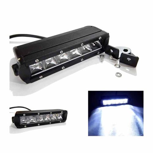 Speedy riders Single 6 LED Auxillary 30 Watts Fog Light / Work Light Bar Spot Beam Off Road Driving Lamp  for All Bikes