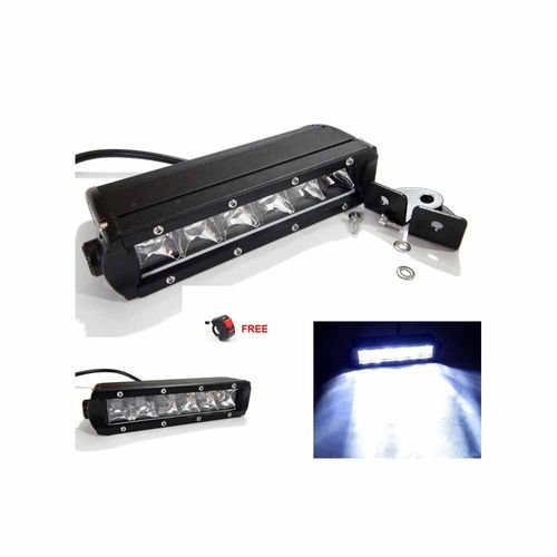 Speedy riders Pair 6 LED Auxillary 30 Watts Fog Light / Work Light Bar Spot Beam Off Road Driving Lamp With ON/OFF Switch Free for All Bikes