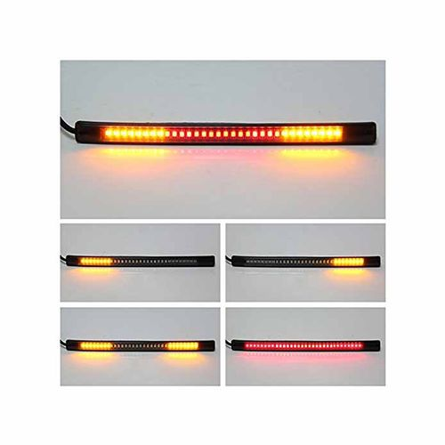 Speedy riders Flexible Strip For Tail Light Brake Light with Turn Signal 8