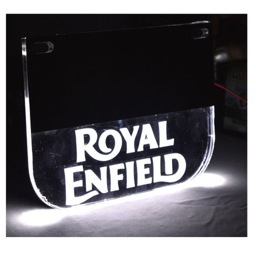 Speedy Riders Real Customized Royal Enfield Number Plate With led light For Royal Enfield
