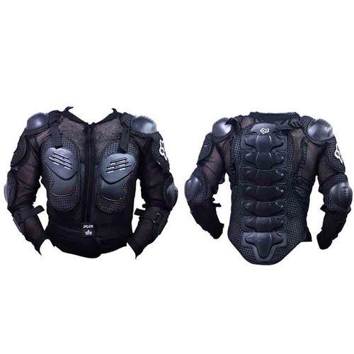 Speedy Riders Fox Riding Gear Body Armor Jacket For Bike Protective Jacket - Black