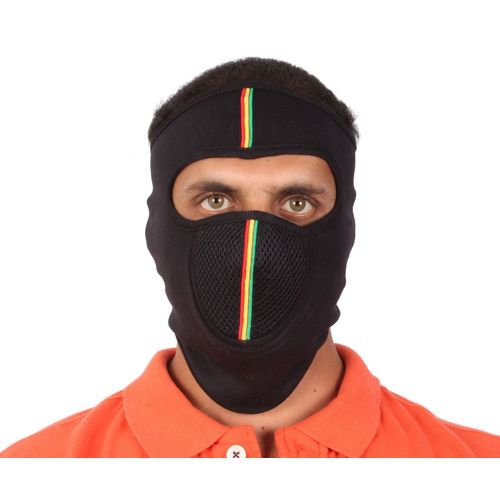Speedy Riders Premium Quality Cotton Bike Riding Face Mask Black