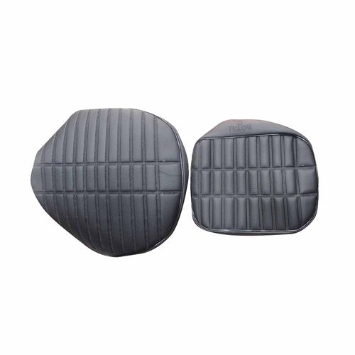 Speedy Riders Customized Stylish Dunlop Seat Cover Black For Royal Enfield Classic